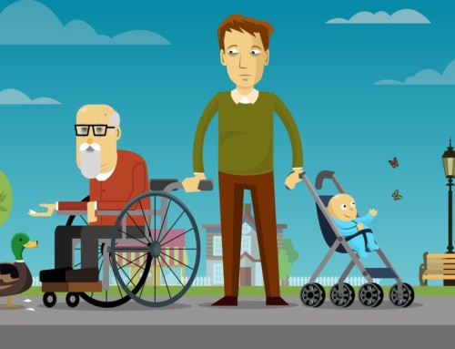 """La generazione """"sandwich"""": i lavoratori di mezzo fra cura dei figli e familiari anziani non autosufficienti"""